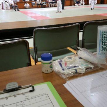 【加古川市 高校柔道大会の救護に行ってきました】