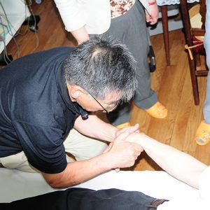 橈骨遠位部の骨折整復実技整復実技