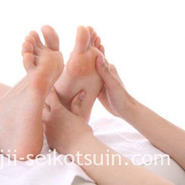 【足から健康を考える】 足のバランス測定