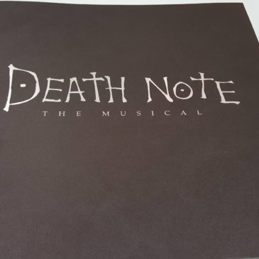 【『DEATH NOTE THE MUSICAL』に行ってきました。】院長ブログ更新 2017.8.31