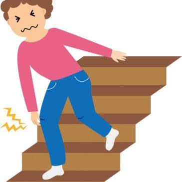 【階段の上り下りが楽になりました】 膝の痛み
